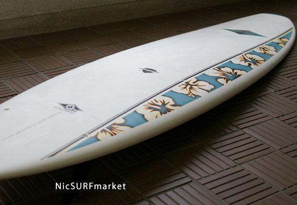 BIC SPORT Mini Malibu 中古ファンボード 7`3 bno9629631d