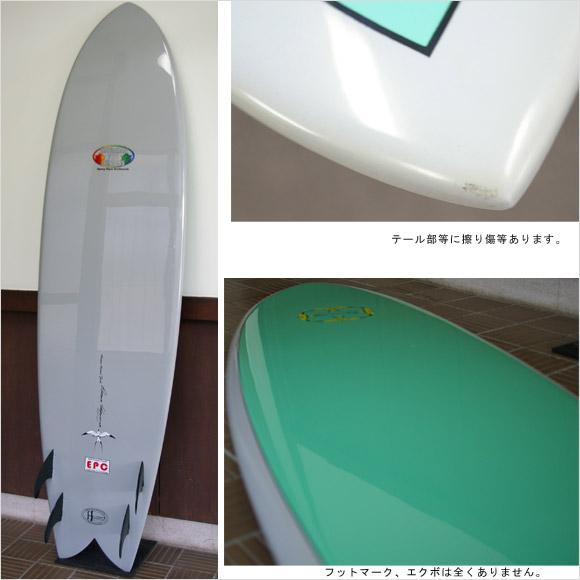 DONALD TAKAYAMA Humu Humu Fish EPOXY 中古フィッシュボード 6`8 bottom bno9629635b