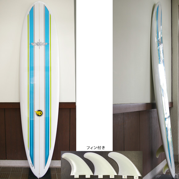 SOUTH POINT Dowing Mini-hune 中古ファンボード 7`7 deck bno9629646a