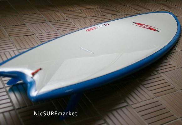SURFTECH TWIN FIN TUFLITE 中古ショートボード bno9629651d