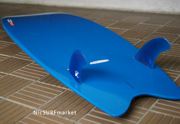 SURFTECH TWIN FIN TUFLITE 中古ショートボード detail bno9629651f