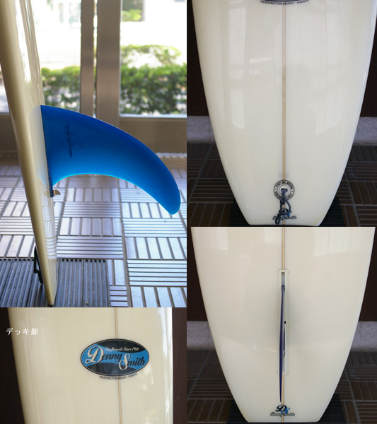Denny Smith 中古 ロングボード9`2 fin/tail bno9629661c