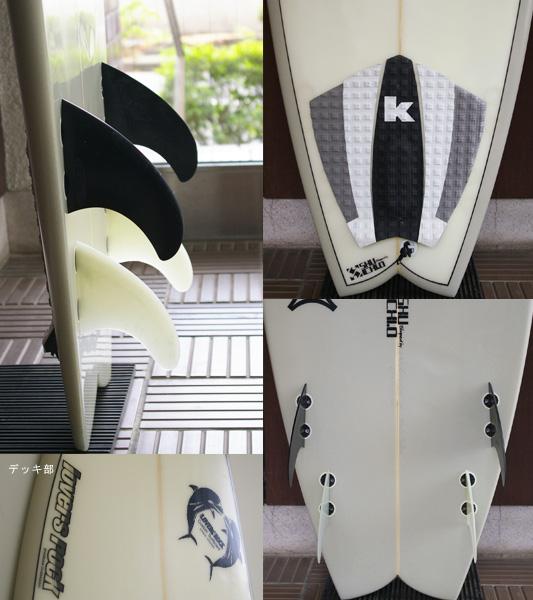 WaterFlash 中古ファンボード 6`9 fin/tail bno9629664c