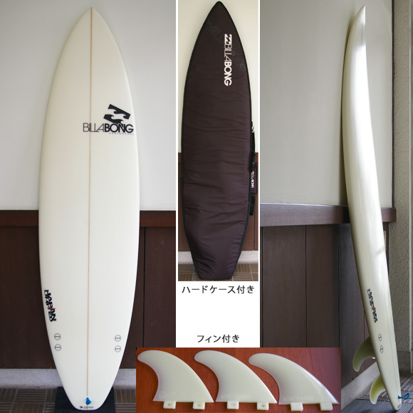 Billabong BJ-LIMITED 中古ショートボード 6`6 deck bno9629683a