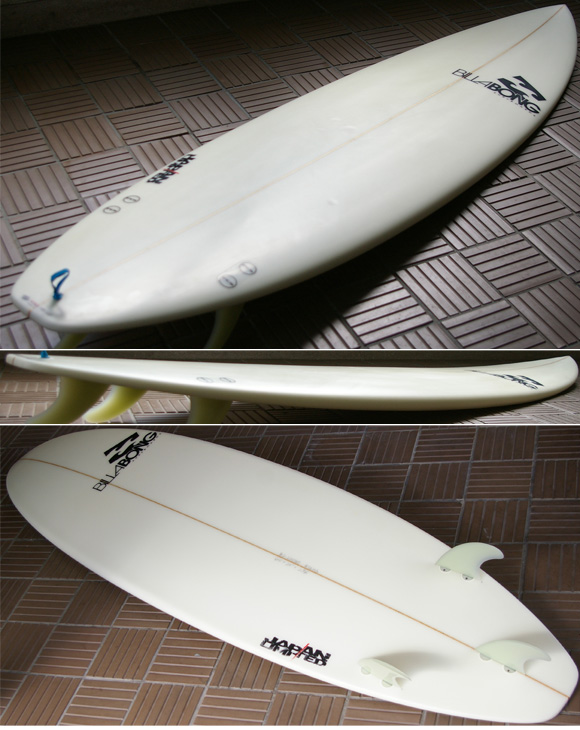 Billabong BJ-LIMITED 中古ショートボード 6`6 condition  bno9629683e