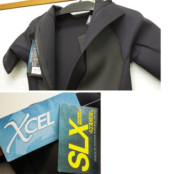 XCEL 中古ウェットスーツ スプリング SLX 2mm detail bno9629692c
