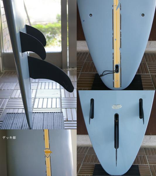 BIC SURF 中古ロングボード9`0 fin/tail bno9629705c