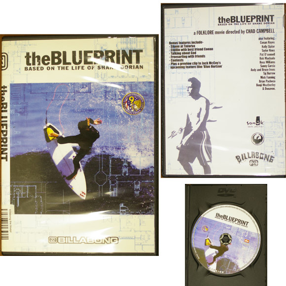 BILLABONG The BLUEPRINT 中古サーフDVD bno9629706a