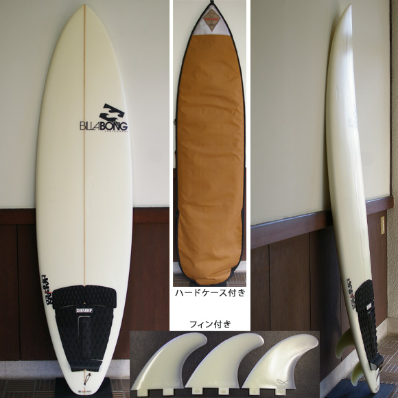 Billabong 中古ファンボード BJ-LIMITED  6`8 deck bno9629709a