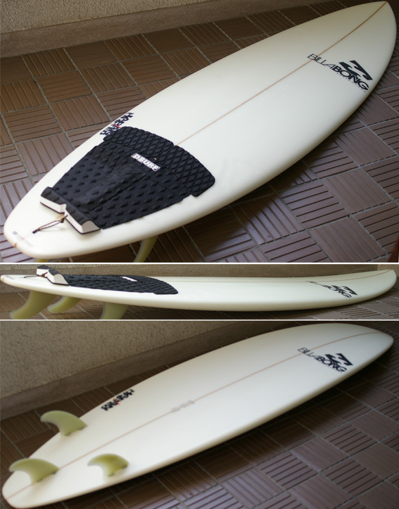 Billabong 中古ファンボード BJ-LIMITED  6`8 condition bno9629709e