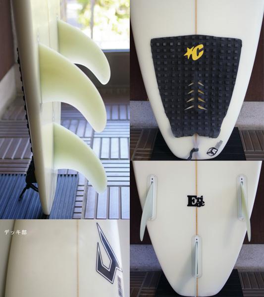 JUSTICE mtd E-ride 中古ショートボード 6`2 fin/tail bno9629712c