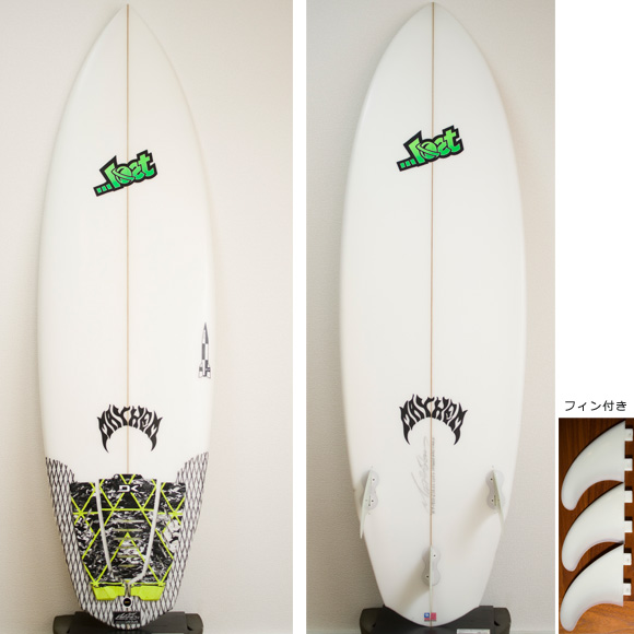 LOST V2 ROCKET 中古ショートボード5`9 deck/bottom bno9629725a