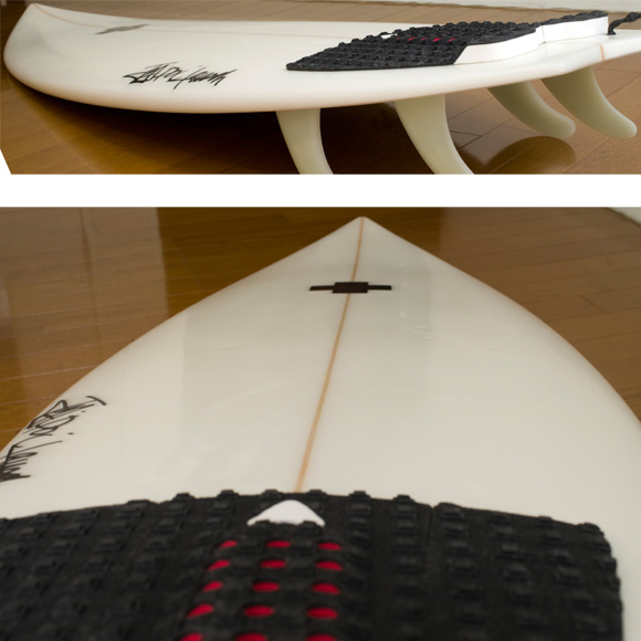 Surf Prescriptions NDR 5FIN 中古ショートボード 5`10 deck-condition bno9629729c