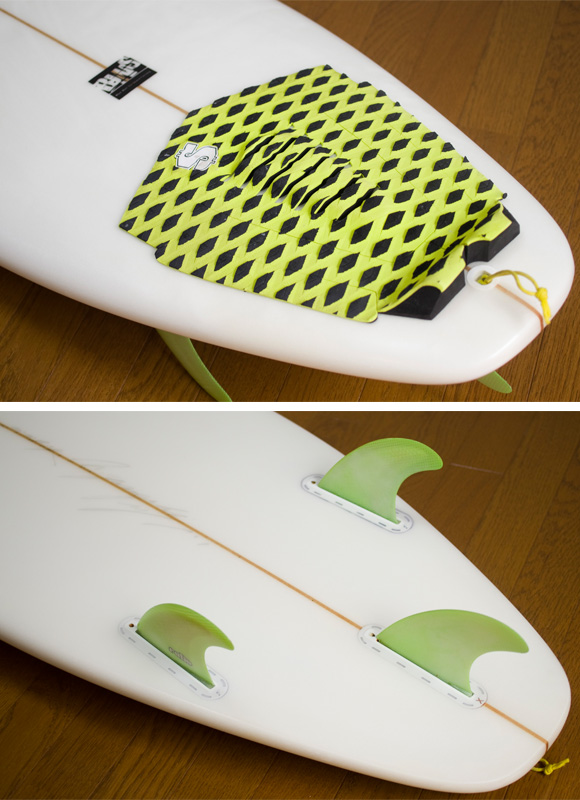 A-shape BluePocket 中古ショートボード 6`1 fin/tail bno9629735d