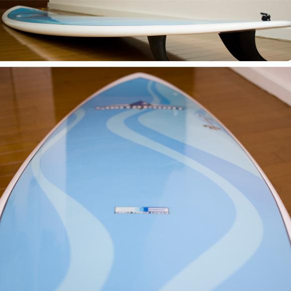 サウスポイント BONGA EPOXY 中古ファンボード 7`6 deck-condition bno9629736c