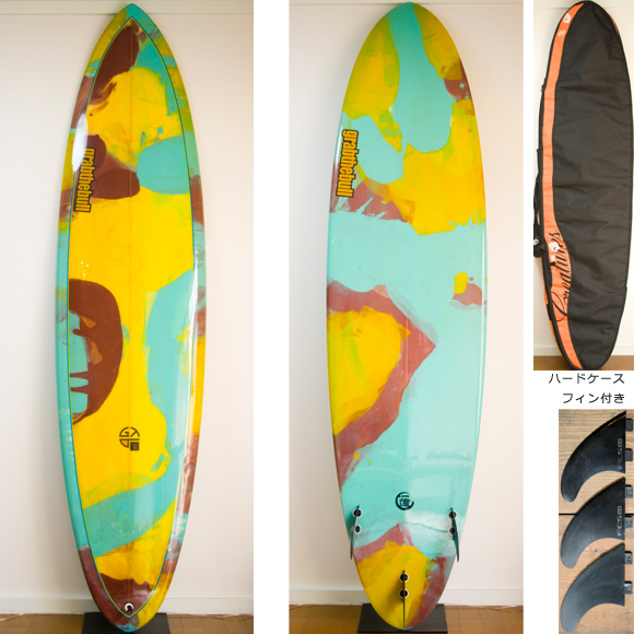 Grab The Bull 中古ファンボード 7`6 deck/bottom bno9629738a