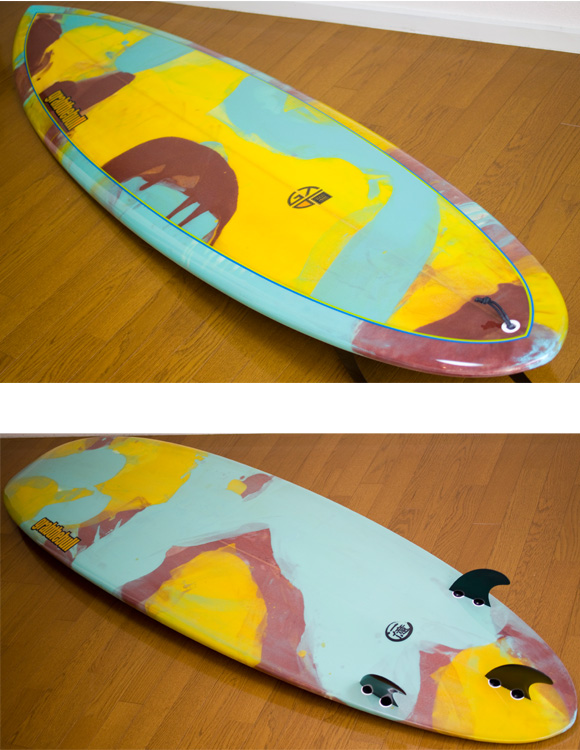Grab The Bull 中古ファンボード 7`6 deck/bottom-detail bno9629738b