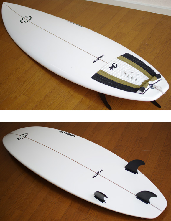 KLYMAXX 中古ショートボード 6`6 deck/bottom-detail bno9629739b