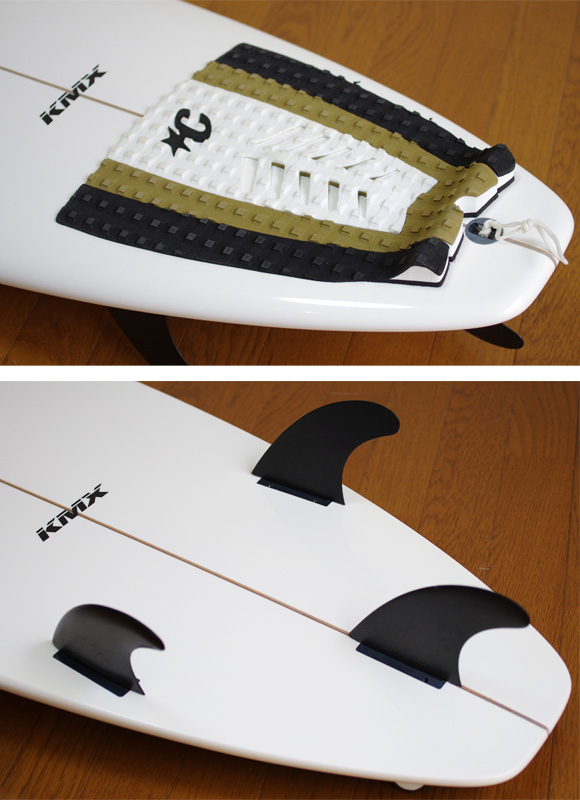 KLYMAXX 中古ショートボード 6`6 fin/tail bno9629739d