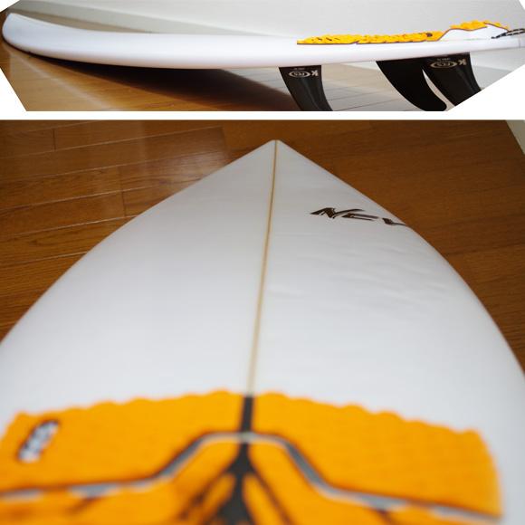 NEV JAPANモデル 中古ショートボード 5`9 deck-condition bno9629748c