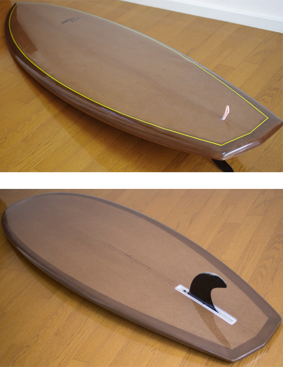 AWOL 中古ファンボード 6`4 deck/bottom-detail bno9629749b