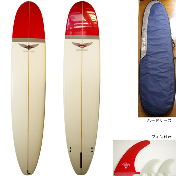 BEAR WATER UNIT 中古ロングボード 9`2 deck/bottom bno9629750a