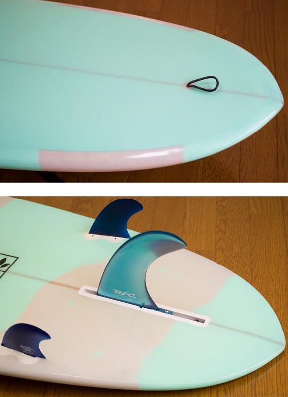Gaku Surfboard 中古ファンボード 7`6 fin/tail bno9629751d