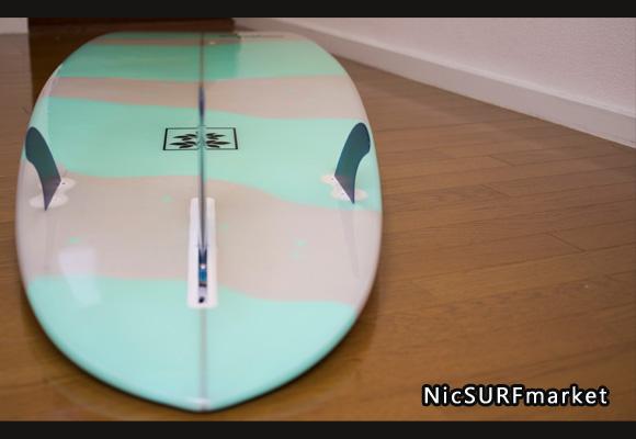 Gaku Surfboard 中古ファンボード 7`6 bottom-design bno9629751im2