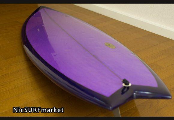 KI SURFBOARDS 中古ショートボード 6`0 bno9629752im1