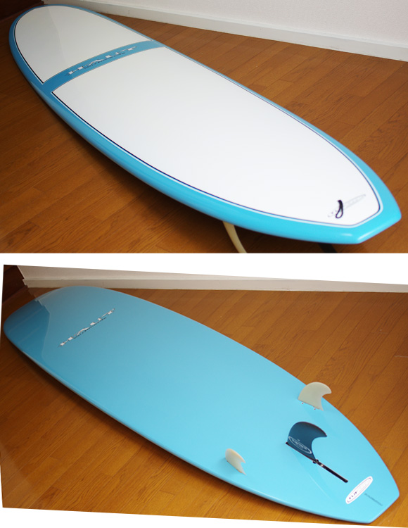 SURFTECH HAUT 中古ロングボード 9`6 deck/bottom-detail bno9629753b