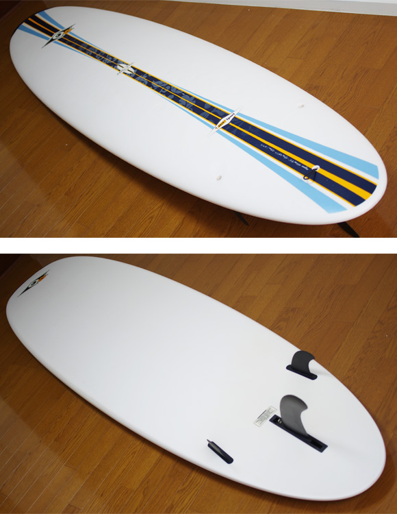 BIC SPORT 中古ファンボード 8`4 deck/bottom-detail bno9629759b