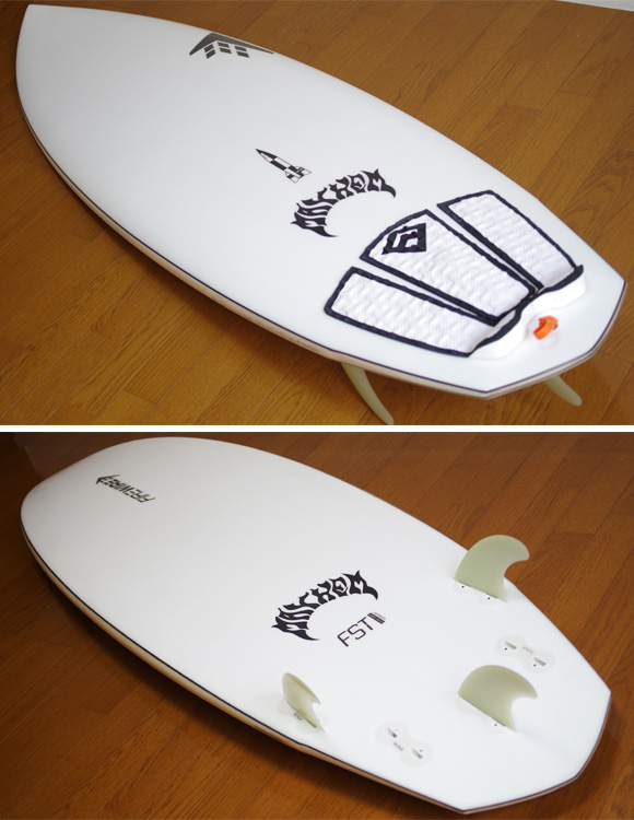 FIREWIRE V2 ROCKET 中古ショートボード 6`0 deck/bottom-detail bno9629760b