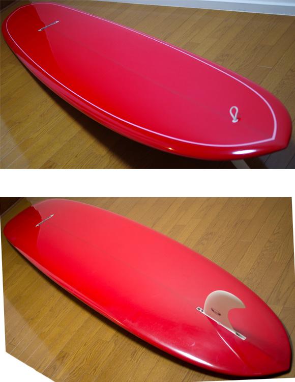 INFINITY 中古ロングボード 9`2 deck/bottom-detail bno9629762b