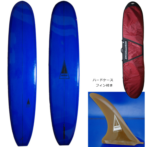 HARBOUR NINETEEN 中古ロングボード 9`6 deck/bottom bno9629763a