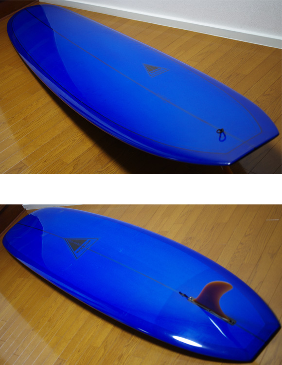 HARBOUR NINETEEN 中古ロングボード 9`6 deck/bottom-detail bno9629763b