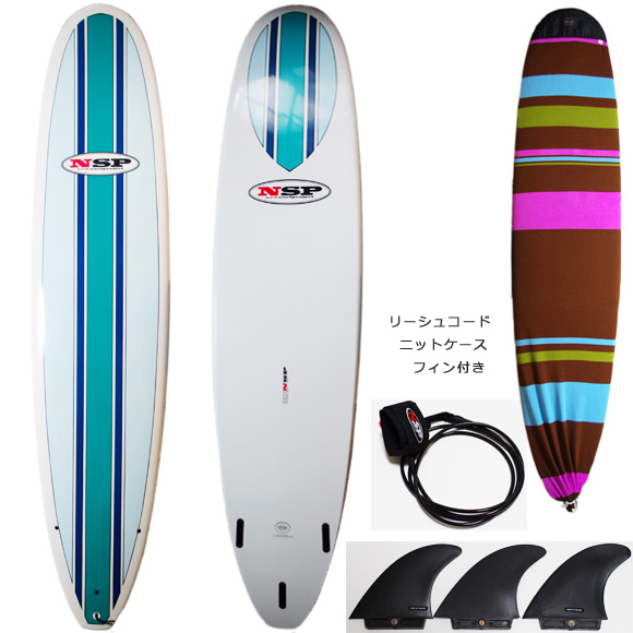 NSP 中古ファンボード EPOXY 8`2 deck/bottom bno9629764a