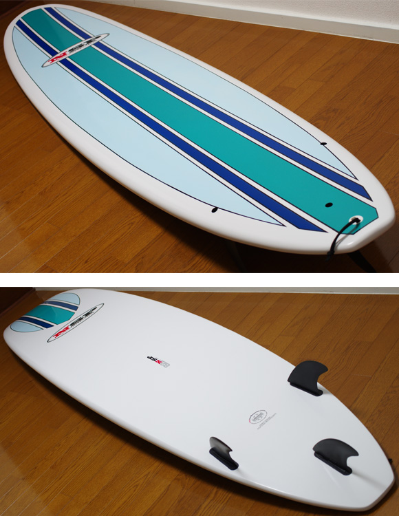NSP 中古ファンボード EPOXY 8`2 deck/bottom-detail bno9629764b