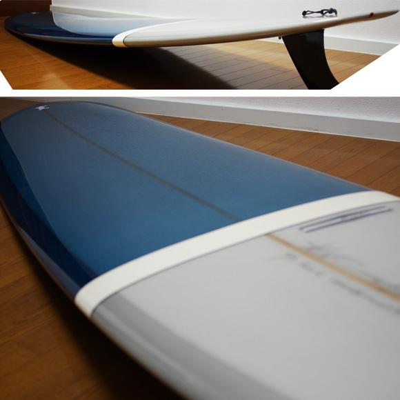 YU CLASSIC NOOSAⅡ 中古ロングボード 9`7 deck-condition bno9629768c
