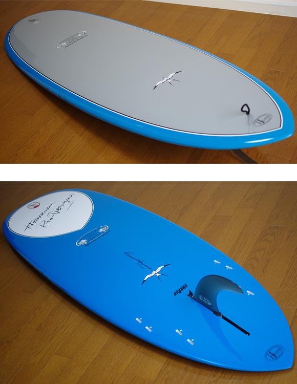 HPD DONALD TAKAYAMA SCORPION 5`10 deck/bottom-detail bno9629769b