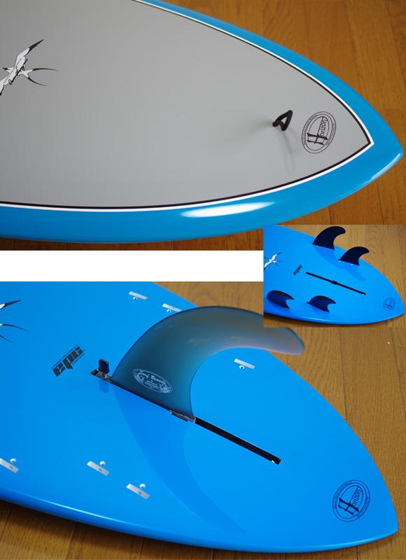 HPD DONALD TAKAYAMA SCORPION 5`10 fin/tail bno9629769d