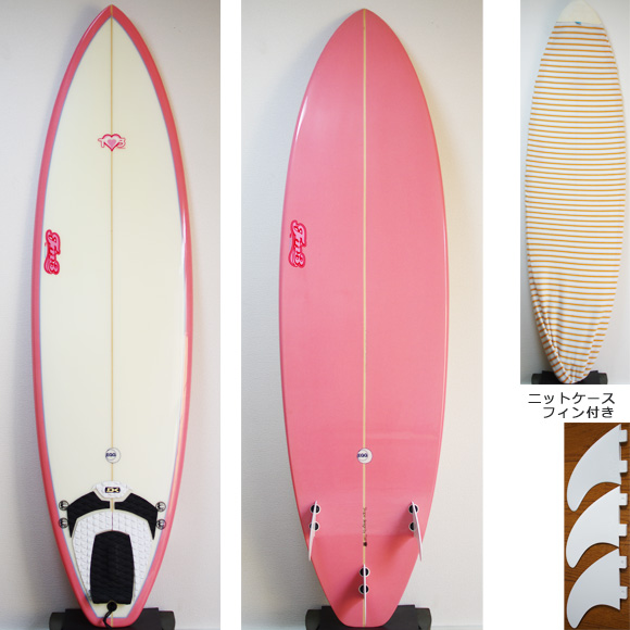 TM3 Mini EGG 中古ファンボード 6`4 deck/bottom bno9629770a