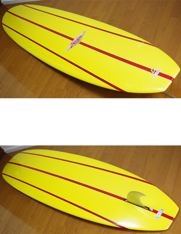 Hobie LIMITED EDITION SERIES 2 中古ロングボード 9`6 deck/bottom-detail bno9629773b