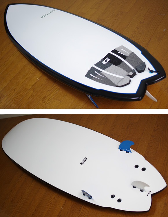 CARDIFF 中古ファンボード 6`9 EPOXY deck/bottom-detail bno9629775b