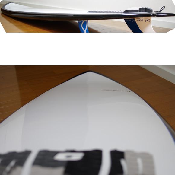 CARDIFF 中古ファンボード 6`9 EPOXY deck-condition bno9629775c