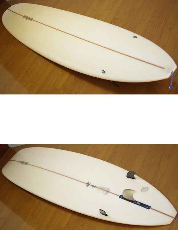 Patagonia HP 中古ロングボード 9`0 deck/bottom-detail bno9629776b