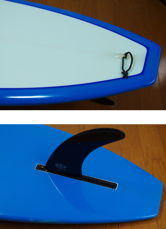 DICK BREWER (Shaper:HIMOJYU) 中古ロングボード 9`6 fin/tail bno9629779d