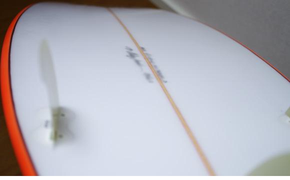 KAWAI Surfboards 中古ショートボード 6`2 condition/repair bno9629780e