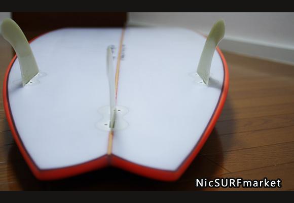 KAWAI Surfboards 中古ショートボード 6`2 bottom-design bno9629780im2