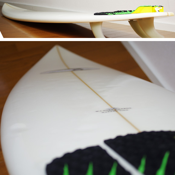 W.I SURFBOARDS 中古ショートボード 6`5 deck-condition bno9629781c