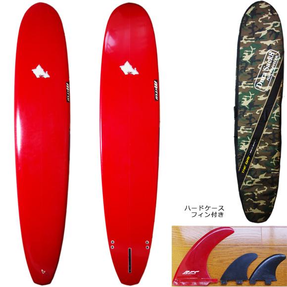 MITSU ミツ 中古ロングボード 9`6 deck/bottom bno9629782a